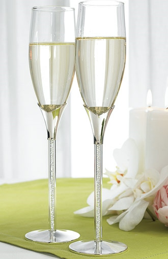flutes a champagne personnalis es mariage brico deco. Black Bedroom Furniture Sets. Home Design Ideas