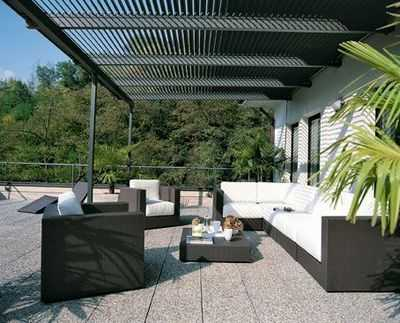 terrasse ou pergola que choisir. Black Bedroom Furniture Sets. Home Design Ideas